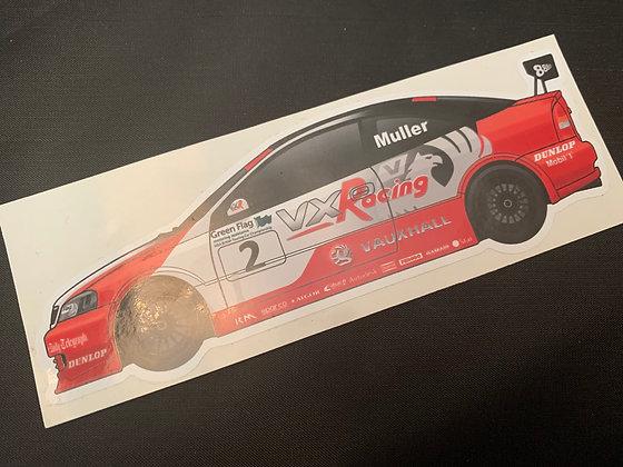 Yvan Muller 2003 Champion Sticker
