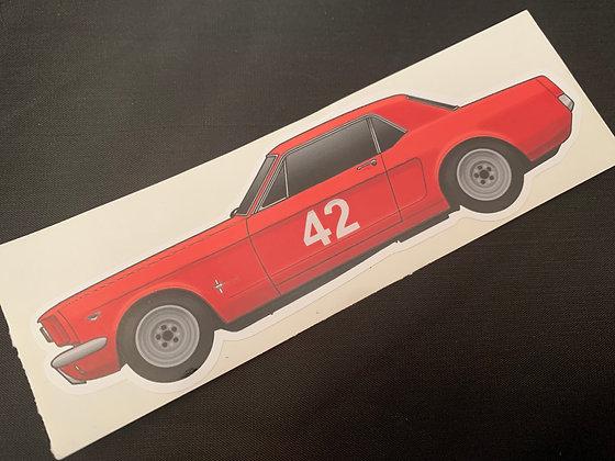 Roy Pierpoint 1965 Champion Sticker