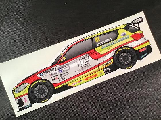 Carl Boardley 2020 Sticker