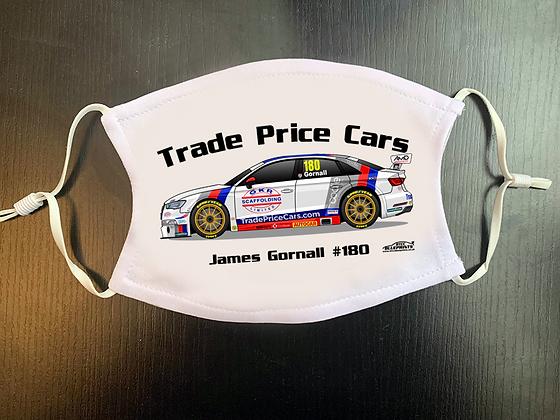 2020 James Gornall Face Mask
