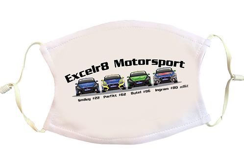 Excelr8 Motorsport 2021 | Face Mask