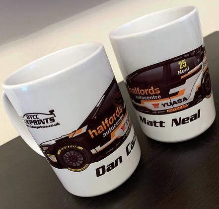 2019 Halfords Yuasa Racing Mug