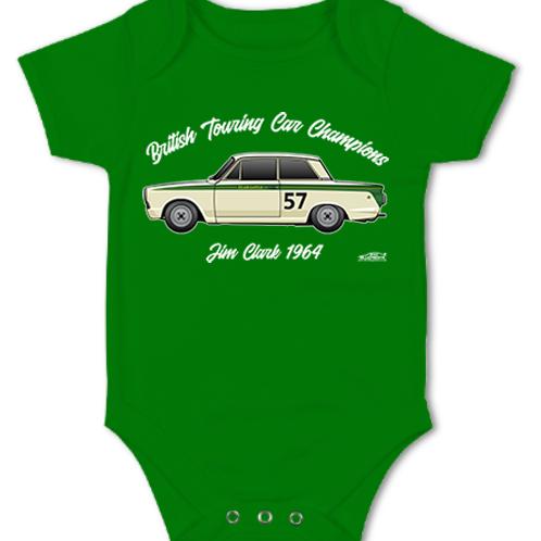 Jim Clark 1964 Champion | Baby Grow