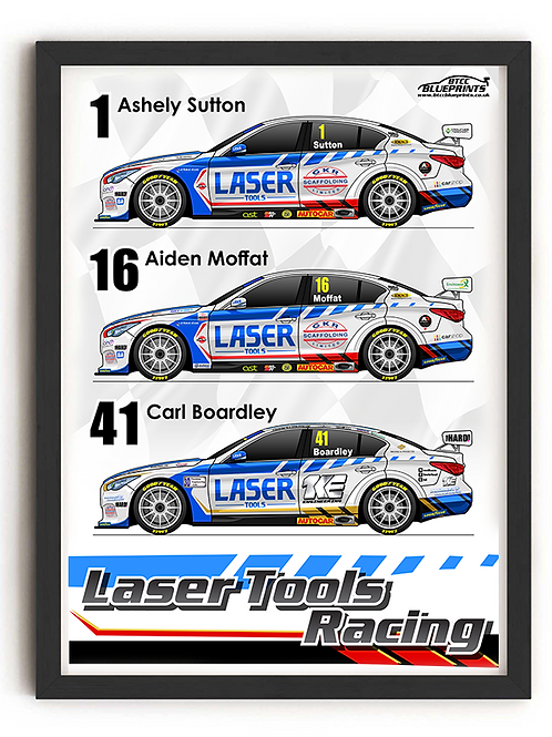 Laser Tools Racing 2021 A4 Poster