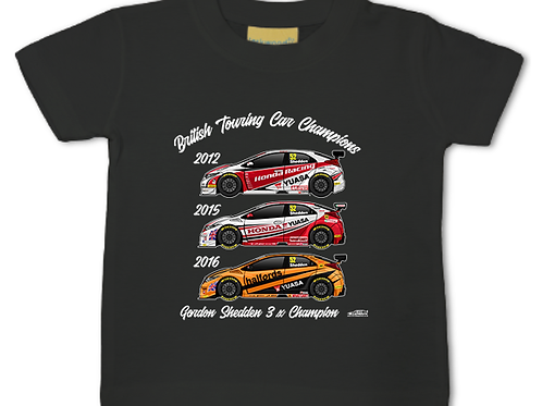 Gordon Shedden 3 x Champion | Baby/Toddler | Short Sleeve T-shirt