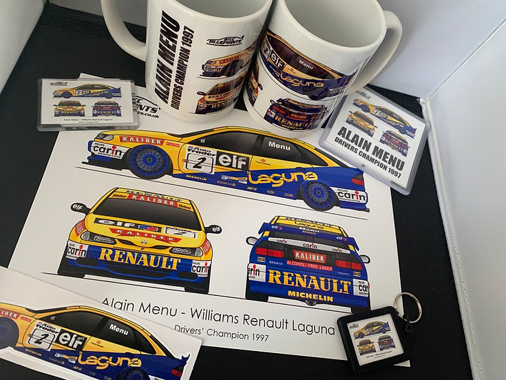 1997 Champion Alain Menu Set