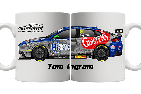 Tom Ingram 2021 | Excelr8 Motorsport | 11oz Mug