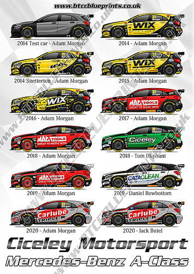 Ciceley Motorsport A-Class Poster