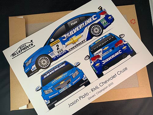 Jason Plato Drivers' Champion 2010 Poster