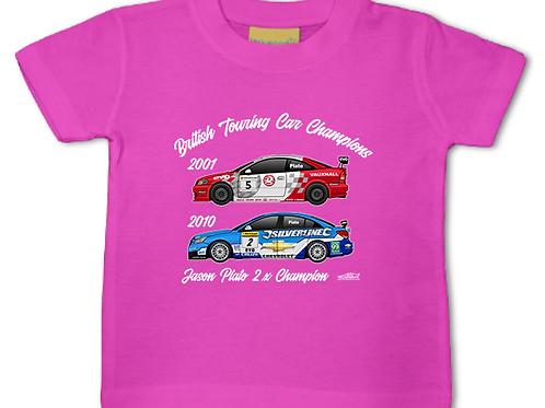 Jason Plato 2 x Champion | Baby/Toddler | Short Sleeve T-shirt