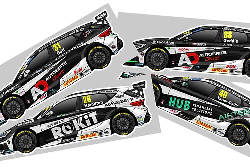 Team HARD Racing 2021 Sticker