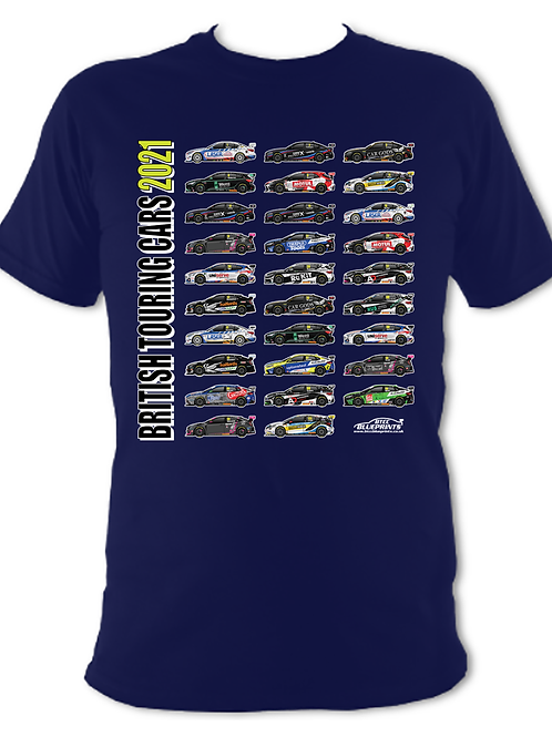2021 BTCC GRID | Children's | Short Sleeve T-shirt