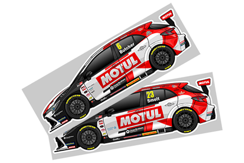 Toyota Gazoo Racing UK 2021 Sticker