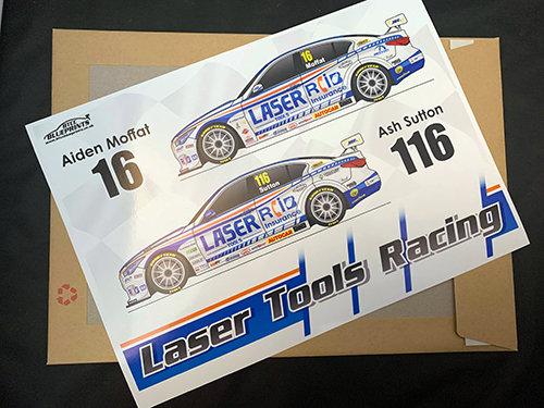 Laser Tools Racing Poster