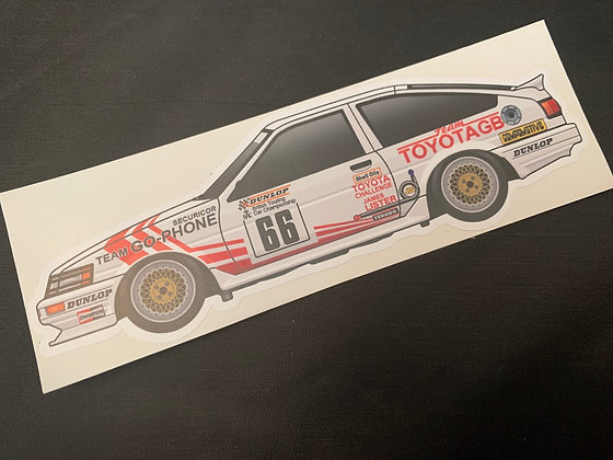 Chris Hodgetts 1987 Champion Sticker