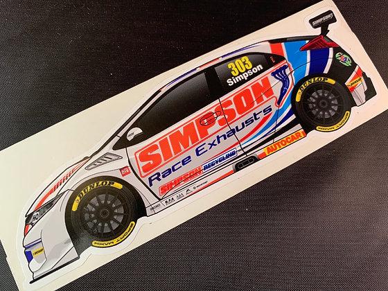 Matt Simpson 2017 Sticker