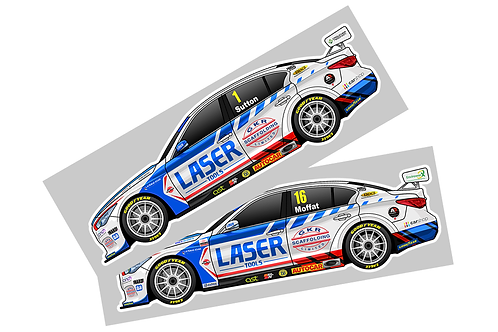 Laser Tools Racing 2021 Sticker