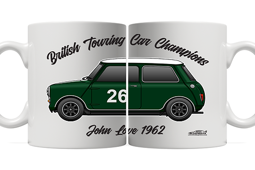 John Love 1962 Champion 11oz Mug