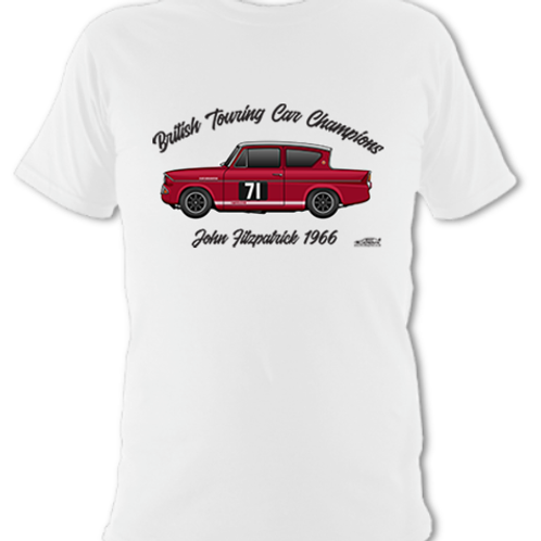 John Fitzpatrick 1966 Champion | Children's | Short Sleeve T-shirt