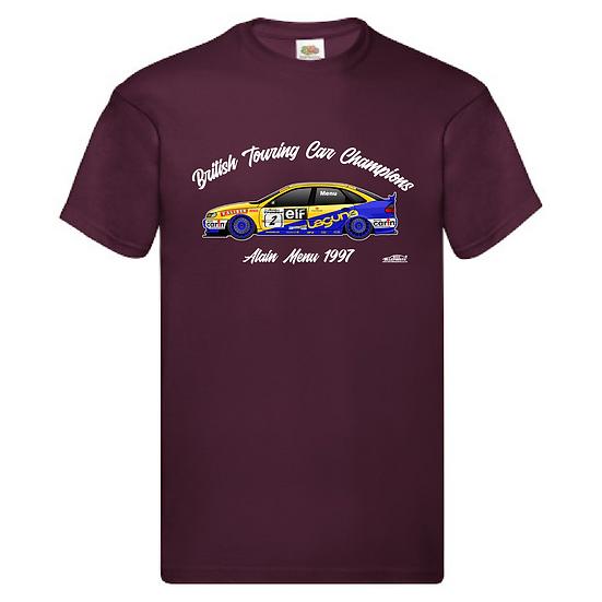 1997 Alain Menu T-Shirt