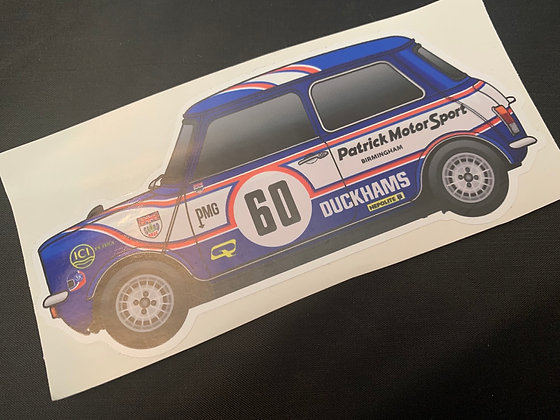 Richard Longman 1978 Champion Sticker