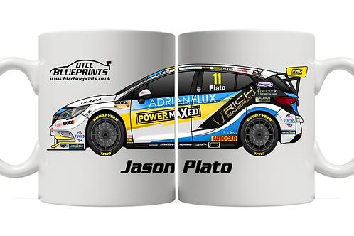 Jason Plato 2021 | Power Maxed Racing | 11oz Mug