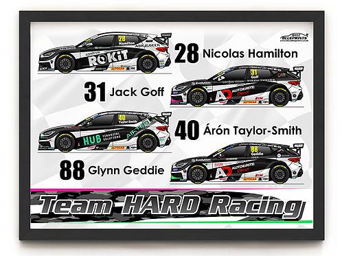Team HARD Racing 2021 A4 Poster