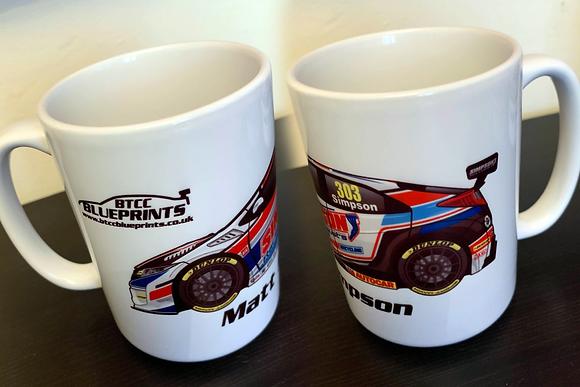 2019 Simpson Racing Mug