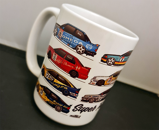 Super Touring Champions 1991 - 2000 Mug