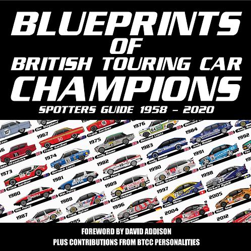 Blueprints of British Touring Car Champions Book