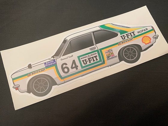 Bernard Unett 1976 Champion Sticker