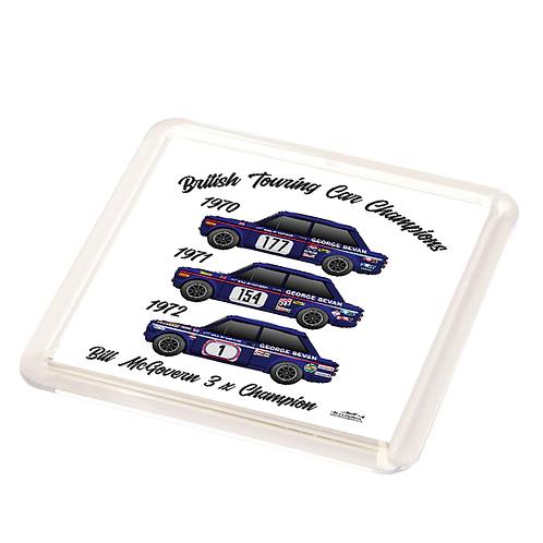 Bill McGovern 3 x Champion Coaster