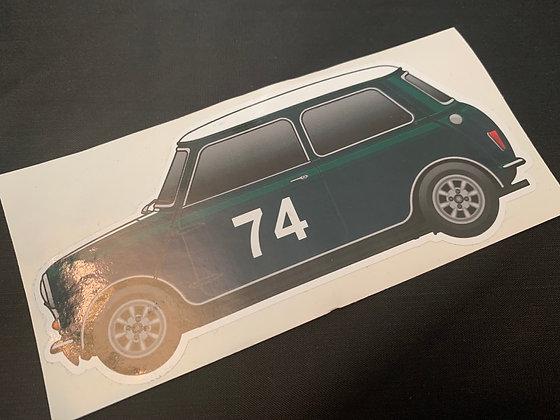 John Love 1962 Champion Sticker