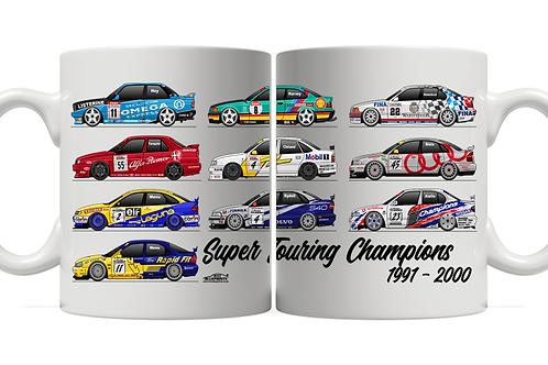 Super Touring Champions 11oz Mug