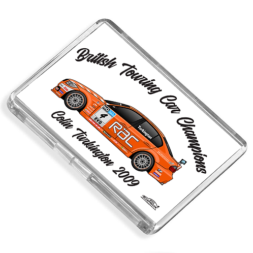 Colin Turkington 2009 Champion Magnet