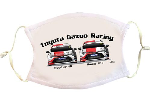 Toyota Gazoo Racing UK 2021   Face Mask