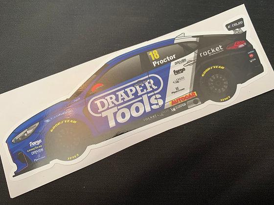 Senna Proctor 2020 Sticker
