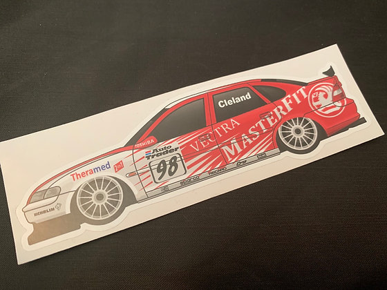 John Cleland 1998 Sticker