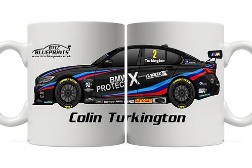Colin Turkington 2021   Team BMW   11oz Mug