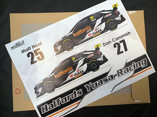 Halfords Yuasa Racing 2020 Poster