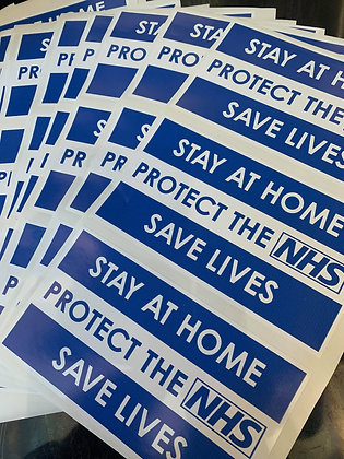 NHS Stickers (Donation to HERO BOX)