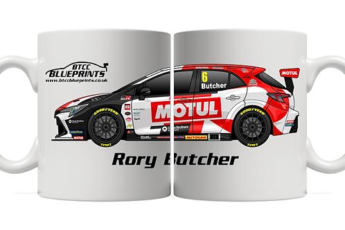 Rory Butcher 2021 | Toyota Gazoo Racing UK | 11oz Mug