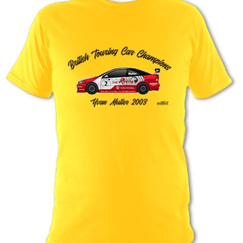 Yvan Muller 2003 Champion | Children's | Short Sleeve T-shirt