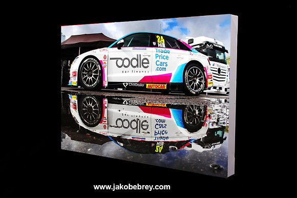 BTCC Jake Hill 'reflection' 2019 Canvas