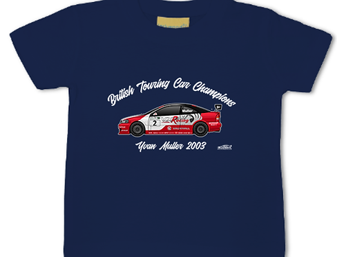 Yvan Muller 2003 Champion | Baby/Toddler | Short Sleeve T-shirt