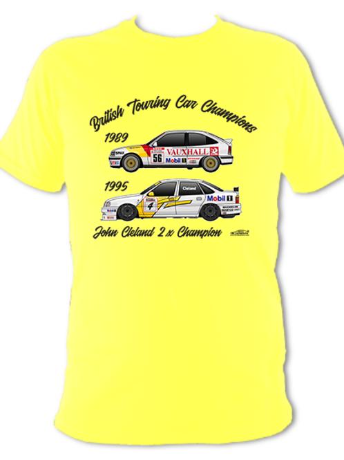 John Cleland 2 x Champion | Adult Unisex | Short Sleeve T-Shirt
