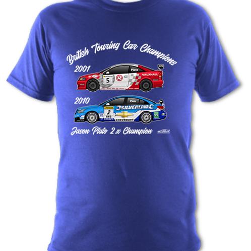 Jason Plato 2 x Champion | Children's | Short Sleeve T-shirt