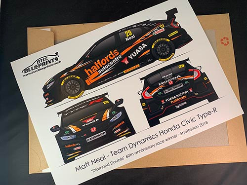 Matt Neal 'Diamond Double' 2018 Poster