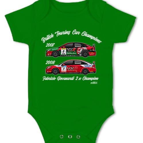 Fabrizio Giovanardi 2 x Champion | Baby Grow