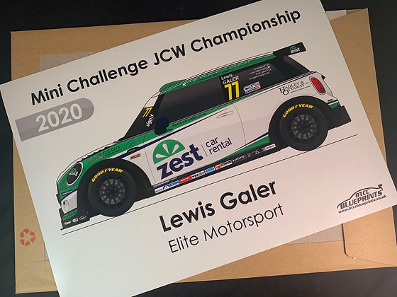 Lewis Galer 2020 Poster